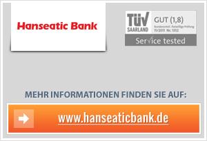 Hanseatic-Bank senkt Zinsen