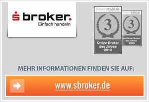 """S-Broker senkt Zinssatz beim """"Konto Plus"""""""