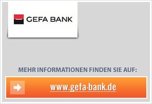 GEFA-Bank senkt Zinsen