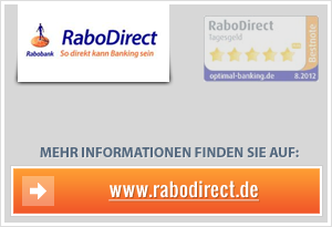 RaboDirect Zinssenkung
