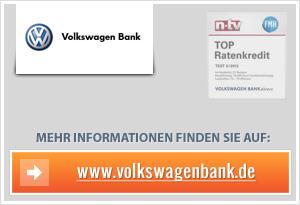 Volkswagen Tagesgeld für Neukunden