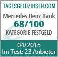 Mercedes Benz Bank Festgeld im Test