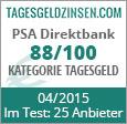 PSA Direktbank Tagesgeld im Test