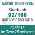 Sberbank Tagesgeld im Test