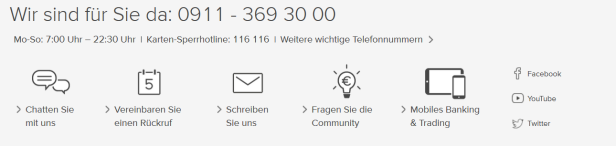 Consorsbank 2 (TG) - Der Kundensupport der Consorsbank ++berze...