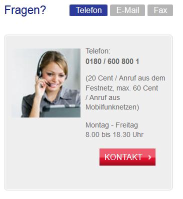 Der telefonische Kontakt kann bei der Credit Europe Bank schnell teuer werden