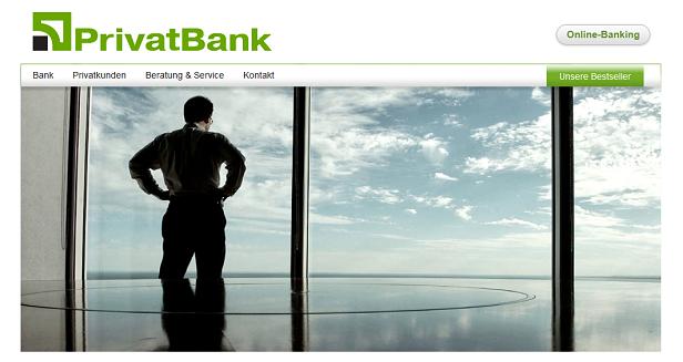 Ausführliche Informationen über die Privatbank gibt es auf der Webseite