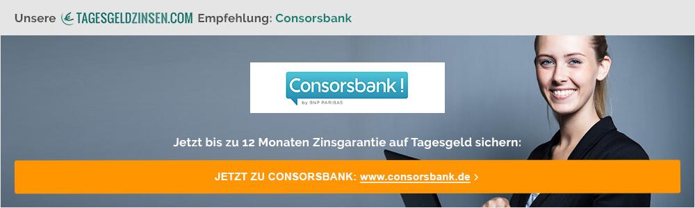 Jetzt Konto bei der Consorsbank eröffnen