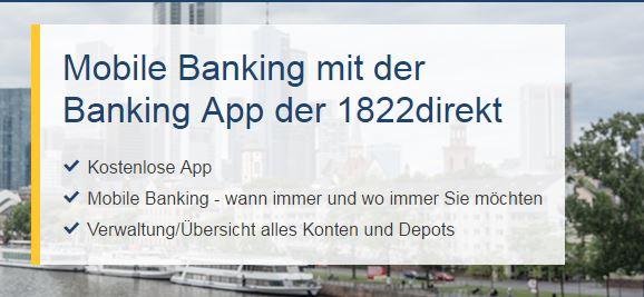Mobile Banking 1822direkt
