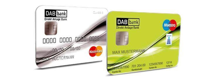 kostenlose MasterCard Classic inklusive