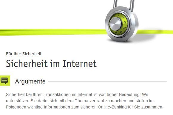 Sicherheit beim Online-Banking
