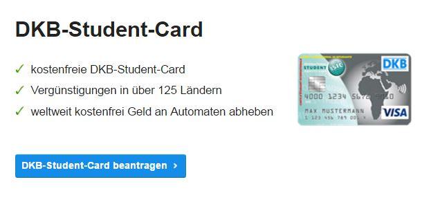 Die kostenfreie DKB Student-Card