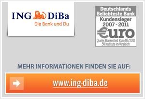 ING-DiBa Tagesgeld mit Bonus