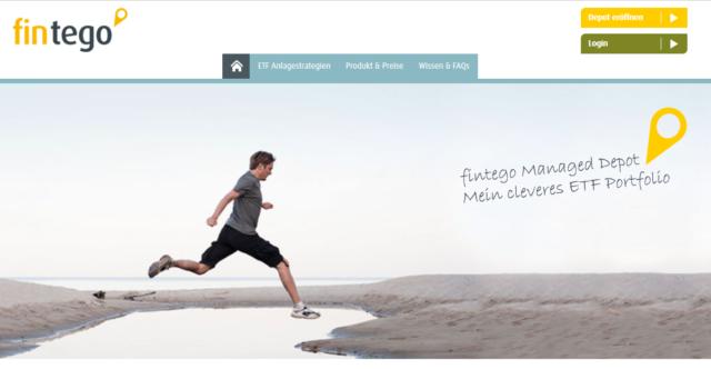 Der Webauftritt von FINTEGO
