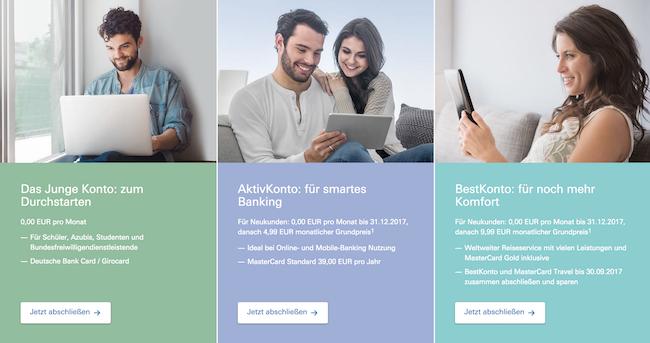Deutsche Bank Girokonto Erfahrungen von Tagesgeldzinsen.com