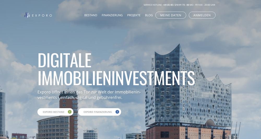 Exporo bietet kinderleichtes investieren in Immobilien-Projekte