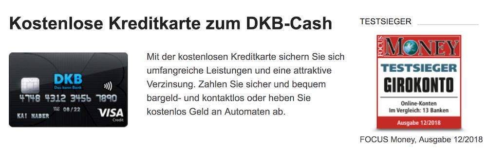 DKB Cash VisaCard