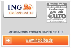 ING-DiBa Bonus für Tagesgeld-Sparpläne