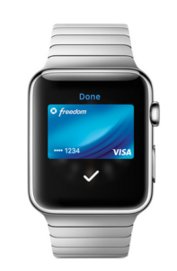 apple pay mit apple watch